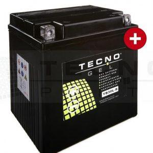 BATTERIE TECNO-GEL YB30L-B 12V 30AH DIN 53015 F. HD, POLARIS U.A.