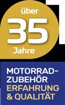 Wirth Federn Label 35 Jahre Motorradzubehör