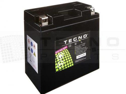 TECNO-GEL Batterie YB9-B =12N9-4B1 mit 12V 9Ah (DIN 50914) für APRILIA 125, Scarabeo, Sportcity, SR,, CAGIVA C div. 125, DAELIM VC/VL/VS 125, DERBI, GILERA, HONDA CB 125/200/250, CJ 250/360, CL 250, CM 125/200/250, NX 125, VT 250, ITALJET 125, KAWASAKI BN 125, KTM, MALAGUTI, PIAGGIO, TRIUMPH T150 750, VESPA , YAMAHA RD 200